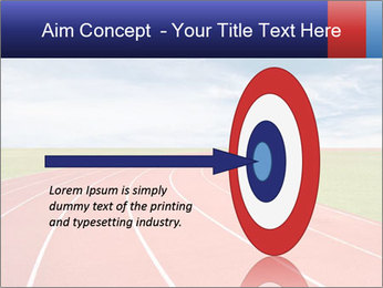 Running track PowerPoint Template - Slide 83