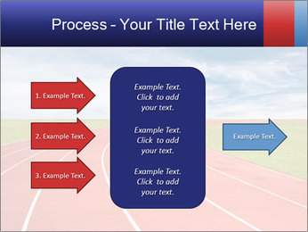 Running track PowerPoint Template - Slide 85