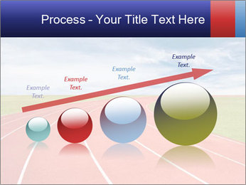 Running track PowerPoint Template - Slide 87