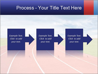Running track PowerPoint Template - Slide 88