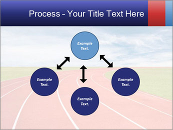 Running track PowerPoint Template - Slide 91