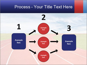 Running track PowerPoint Template - Slide 92