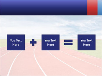 Running track PowerPoint Template - Slide 95