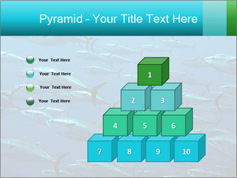 Group of giant tuna PowerPoint Template - Slide 31