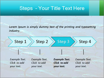 Group of giant tuna PowerPoint Template - Slide 4