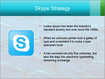 Group of giant tuna PowerPoint Template - Slide 8