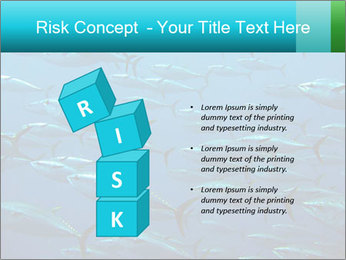 Group of giant tuna PowerPoint Template - Slide 81