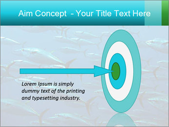 Group of giant tuna PowerPoint Template - Slide 83