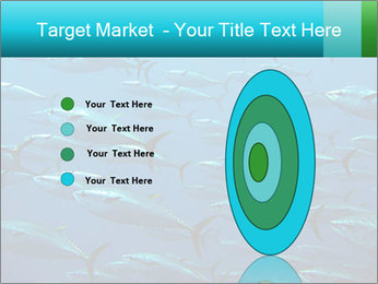 Group of giant tuna PowerPoint Template - Slide 84
