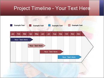 Funny kids PowerPoint Template - Slide 25