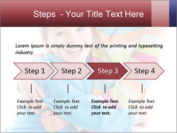 Funny kids PowerPoint Template - Slide 4