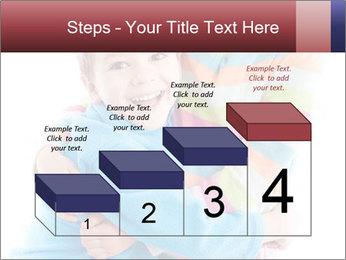 Funny kids PowerPoint Template - Slide 64
