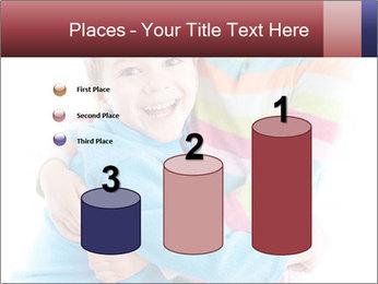 Funny kids PowerPoint Template - Slide 65