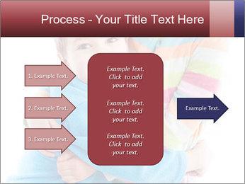 Funny kids PowerPoint Template - Slide 85