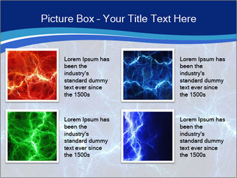 Blue fantasy PowerPoint Template - Slide 14