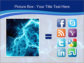 Blue fantasy PowerPoint Template - Slide 21