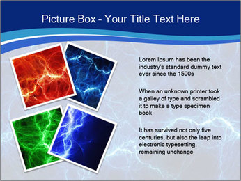 Blue fantasy PowerPoint Template - Slide 23