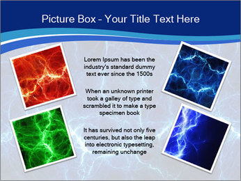 Blue fantasy PowerPoint Template - Slide 24