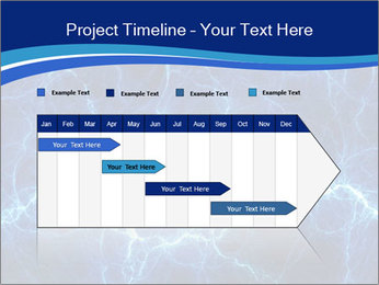 Blue fantasy PowerPoint Template - Slide 25
