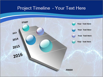 Blue fantasy PowerPoint Template - Slide 26