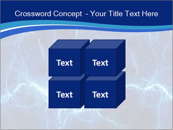 Blue fantasy PowerPoint Template - Slide 39