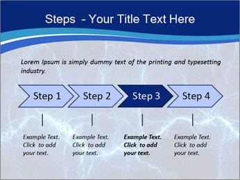 Blue fantasy PowerPoint Template - Slide 4