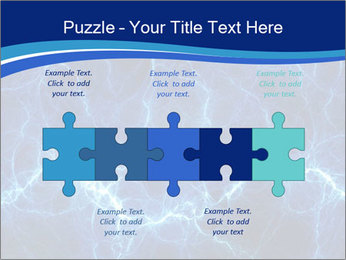 Blue fantasy PowerPoint Template - Slide 41