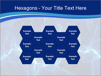 Blue fantasy PowerPoint Template - Slide 44