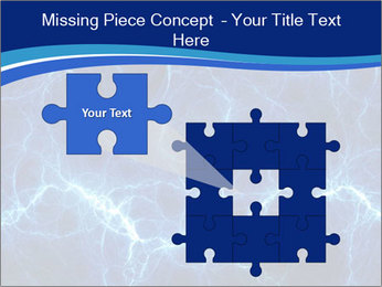 Blue fantasy PowerPoint Template - Slide 45