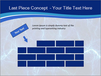 Blue fantasy PowerPoint Template - Slide 46
