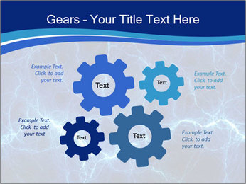 Blue fantasy PowerPoint Template - Slide 47