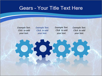 Blue fantasy PowerPoint Template - Slide 48