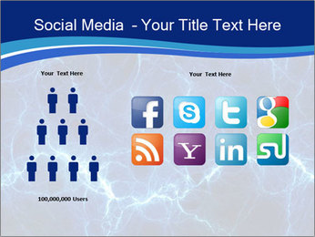 Blue fantasy PowerPoint Template - Slide 5