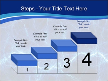 Blue fantasy PowerPoint Template - Slide 64