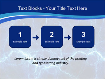Blue fantasy PowerPoint Template - Slide 71