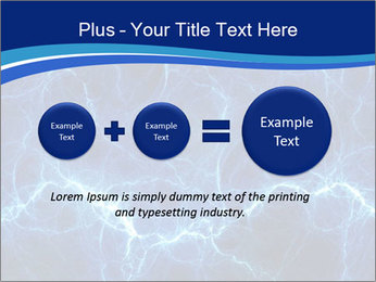 Blue fantasy PowerPoint Template - Slide 75