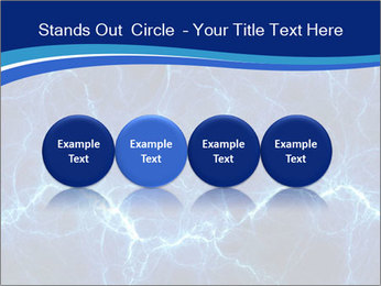 Blue fantasy PowerPoint Template - Slide 76