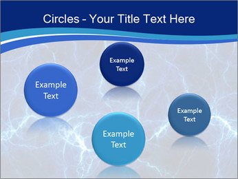 Blue fantasy PowerPoint Template - Slide 77