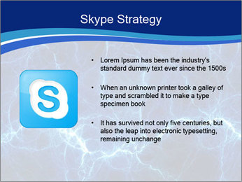 Blue fantasy PowerPoint Template - Slide 8