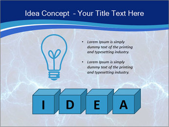 Blue fantasy PowerPoint Template - Slide 80