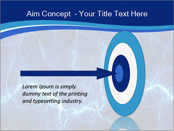 Blue fantasy PowerPoint Template - Slide 83