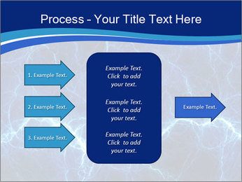 Blue fantasy PowerPoint Template - Slide 85
