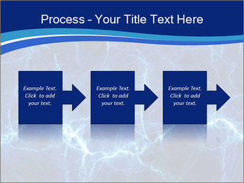 Blue fantasy PowerPoint Template - Slide 88
