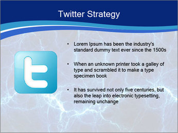 Blue fantasy PowerPoint Template - Slide 9