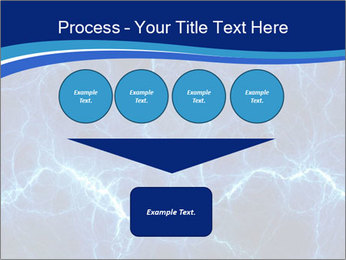 Blue fantasy PowerPoint Template - Slide 93