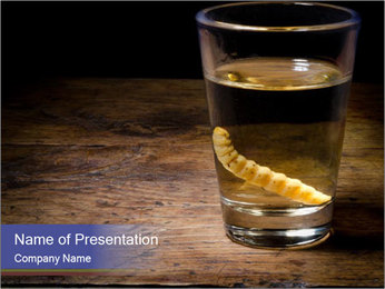 Tequila PowerPoint Template - Slide 1