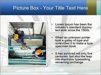Two machinist worker PowerPoint Template - Slide 13