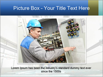 Two machinist worker PowerPoint Templates - Slide 15