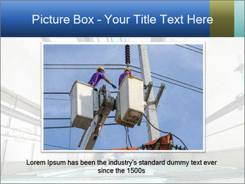 Two machinist worker PowerPoint Template - Slide 16