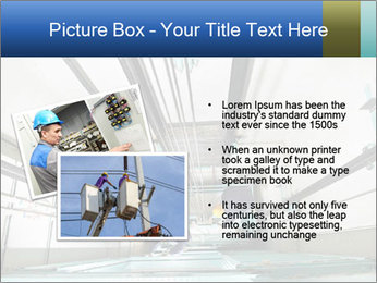 Two machinist worker PowerPoint Templates - Slide 20